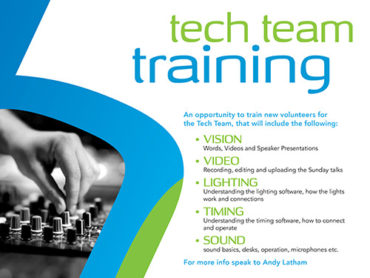 Tech Team Training