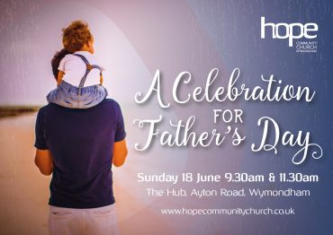 Father's Day Celebration – Sunday 18 June 2017