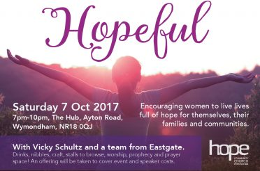 Hopeful – Saturday 7 October 2017