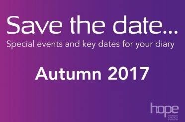 Save the Date… Autumn 17