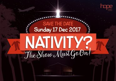 Nativity? The Show Must Go On! – Sunday 17 December 2017, The Hub
