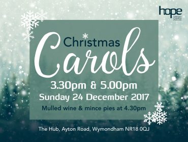Carols – Sunday 24 December 2017