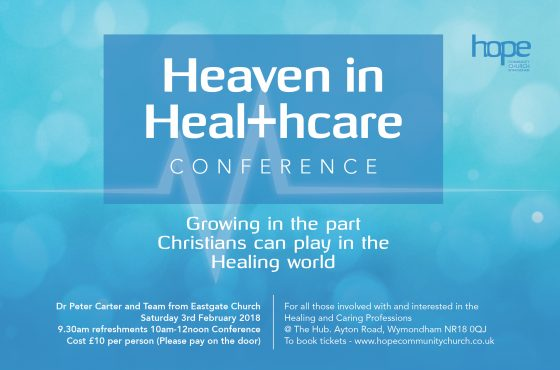 Heaven in Healthcare Conference – Saturday 3 February 2018