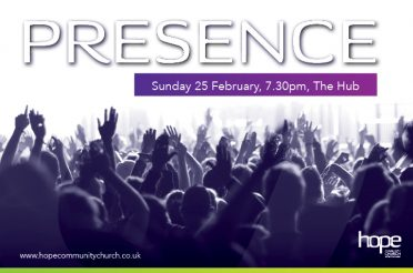 Presence Sunday the 25th February 2018