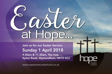 Easter Sunday – Sunday 1 April 2018