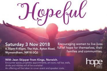Hopeful – Saturday 3 November 2018
