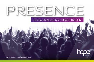Presence – Sunday 25 November 2018
