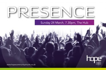Presence – Sunday, 24 March 19