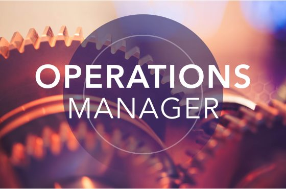 Full Time Operations Manager Position