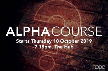 Alpha Course – October 2019
