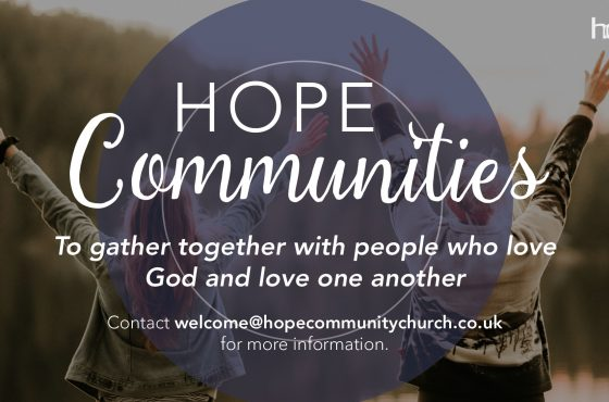 Hope Communities Launch